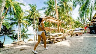 EXPLORING SIARGAO ISLAND ON A MOTORBIKE - THE PHILIPPINES VLOGS
