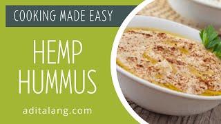 Adita Lang Hemp Hummus
