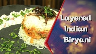 How To Make Layered Indian Vegetable Biryani At Home