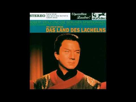 """Rudolf Schock in """"Querschnitt-Land des Lächelns"""" Lehár"""