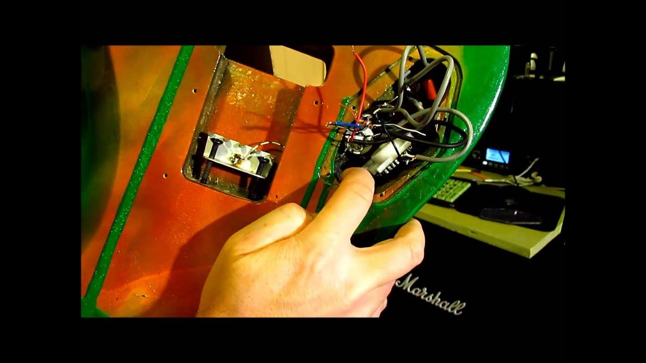 Guitar Humm Troubleshooting, Humbucker Single 5 Way - YouTube