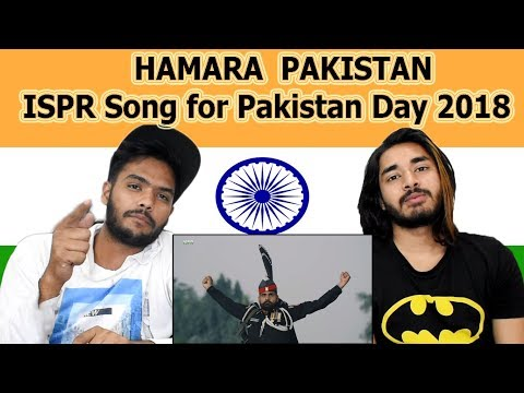 Indian reaction on HAMARA PAKISTAN | ISPR Song | Pakistan Day 2018 | Swaggy d