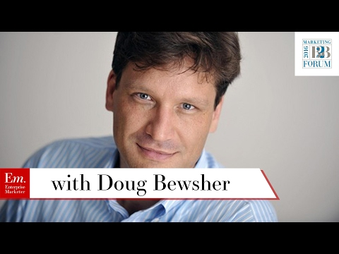 The Transition from CMO to CEO and How Marketing Can Empower Sales with Doug Bewsher of Leadspace