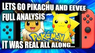 POKEMON LETS GO FULL ANALYSIS + THOUGHTS