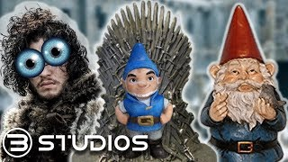 Game of GNOMES?? | Game of Thrones Parody | B Studios #GameOfThrones #SherlockGnomes #GOT