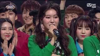 180111 Mnet 엠카운트다운 1위 한 모모랜드 뿜뿜