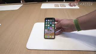iphone X FIRST LOOK | APPLE | LAUNCH VIEW
