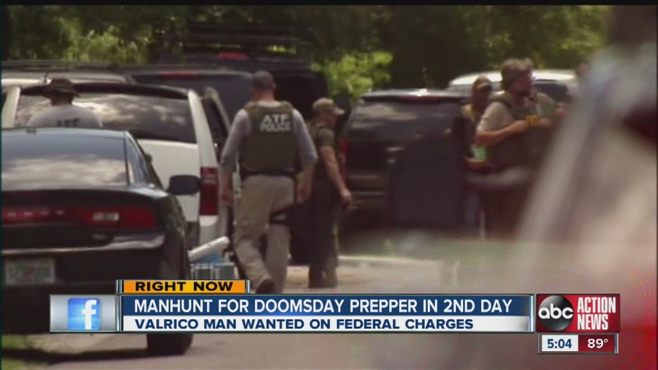FBI offers reward in search for doomsday prepper