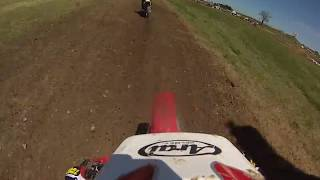 Mid Ohio Vintage Days AMA Motocross Women's Moto #2 1983 Cagiva WMX125 July 2018