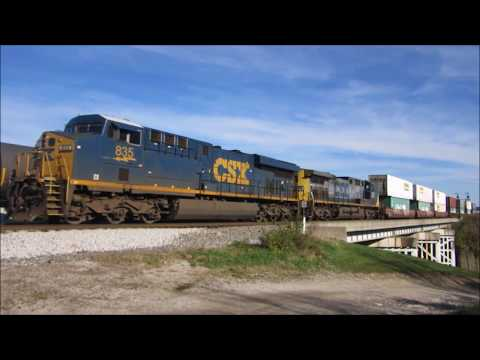 Illionis Central SD70 1015 and Other Great Railfanning Action in Cincinnati, Ohio!