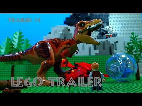 Jurassic World 2: Fallen Kingdom Trailer #1 In LEGO