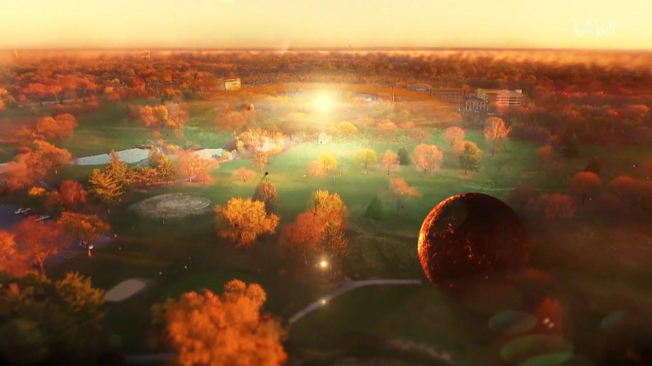 太阳系末日模拟,太阳膨胀250倍吞噬全星系,终极震撼!