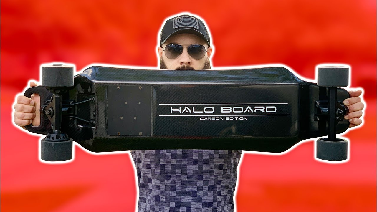 BEST ELECTRIC SKATEBOARD OF 2019? Halo Board 2 Review  YouTube