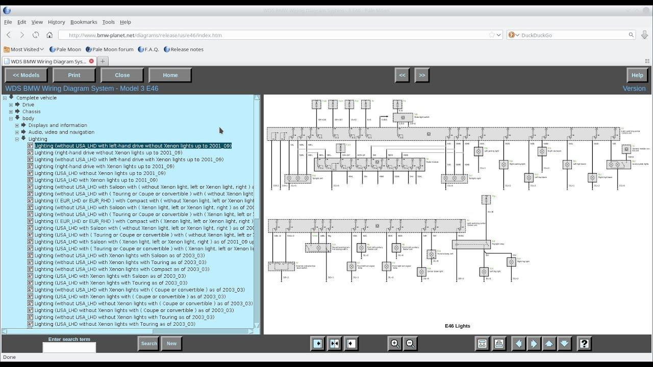 bmw wds schematy elektryczne do bmw przegladarka z jav itd  [ 1280 x 720 Pixel ]