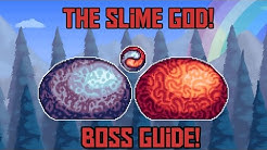 How to Beat the Slime God In Terraria -Calamity Expert Mode Boss Guide!