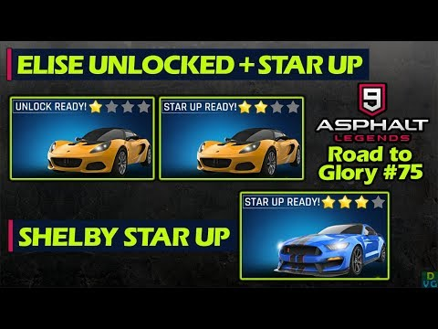 Asphalt 9 - F2P RTG #75 | Elise unlocked + Star Up & Shelby