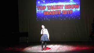 TOP TALENT SHOW 2019-  TANASA RALUCA POP ROMANESC