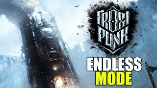 Freezing in the Crags - Frostpunk Gameplay - Endless Mode