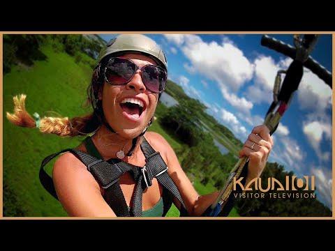 Koloa Zipline Spotlight - KVIC-TV3 [Activity]