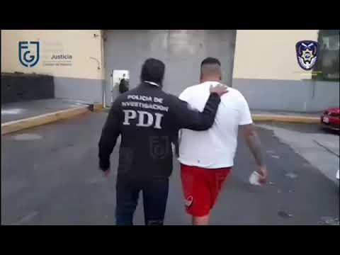 """FGJ-CDMX detuvo a Jefferson Manuel """"N"""", por el delito de extorsión"""