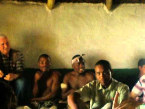 Natives Singing at Lesedi Village