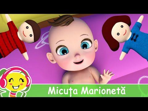 Micuta Marioneta  Cantec pentru bebelusi – CanteceGradinita – Cantece pentru copii in limba romana