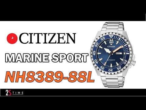 CITIZEN Marine Sport NH8389-88L Automatic Mens Watch 100m