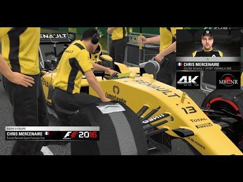 F1 2016 : [4K] La carriere d'un rookie '; ^) N°21 ! Abu Dhabi 25% Vue cockpit !