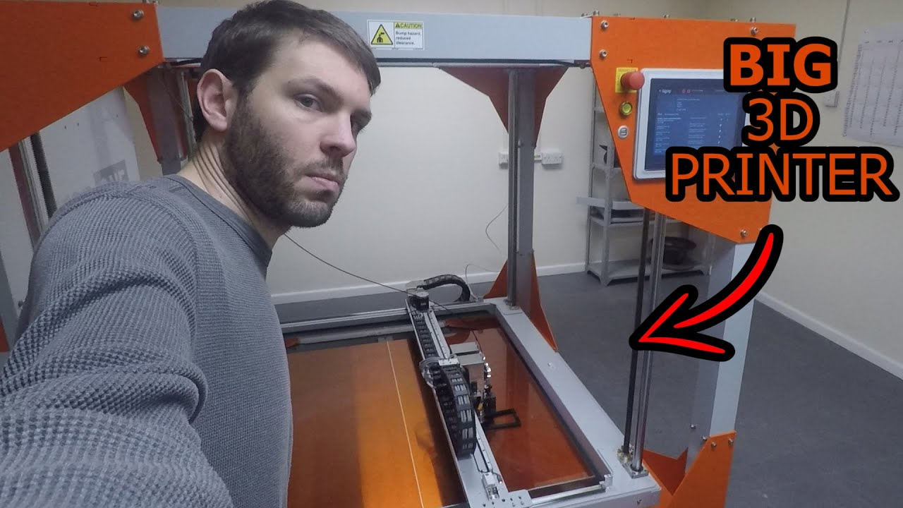 Making Boat Propellers with a Massive 3D Printer!