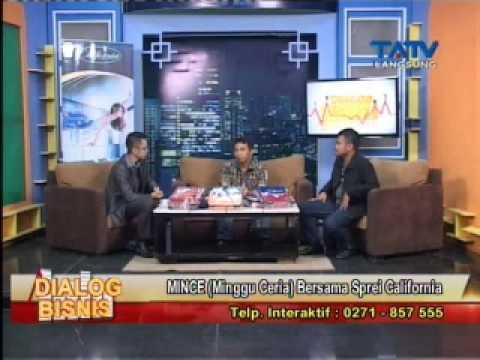 18 04 2015 Dialog Bisnis_MINCE (Minggu Ceria) Bersama Sprei California Segmen 2