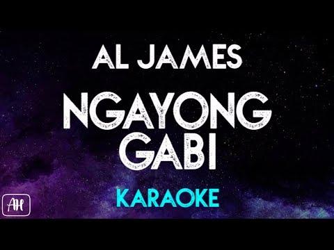 Al James - Ngayong Gabi (Karaoke/Instrumental)