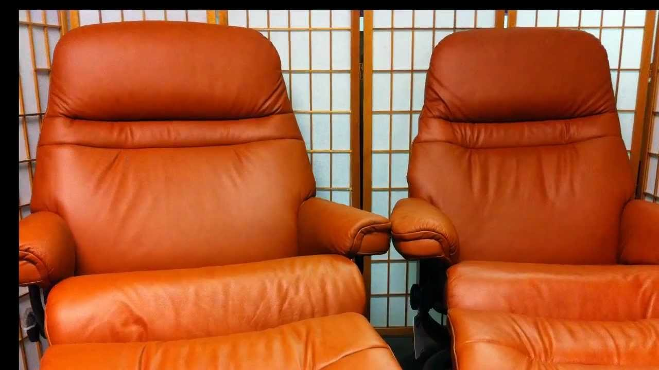 stressless sunrise chairs sweet brandy paloma youtube