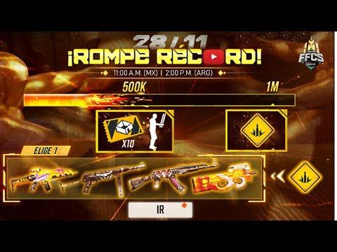 REACCIONANDO A FREE FIRE CONTINENTAL SERIES *RECOMPENSAS* SERVIDOR AVANZADO Y MAS   Florta Games