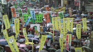 Hong Kong'ta demokrasi çağrısı