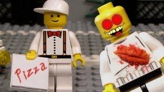 Lego Zombie Pizza - Zombie Shorts