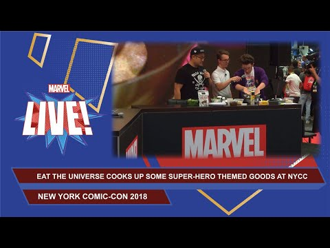 Eat the Universe: Infinity Warps edition LIVE at NYCC 2018