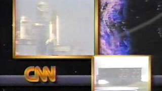 STS-28 seen live on CNN