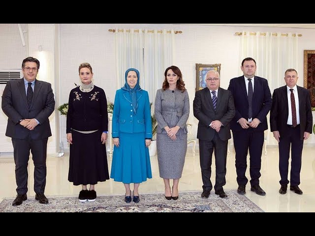 A parliamentary delegation from Albania meets with Maryam Rajavi- December 4, 2018