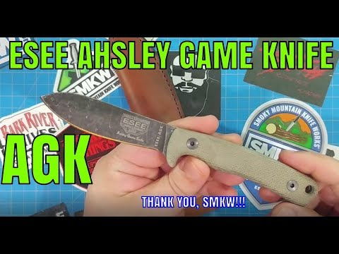ESEE ASHLEY GAME KNIFE: Leverage Your Skinning Ability!!!