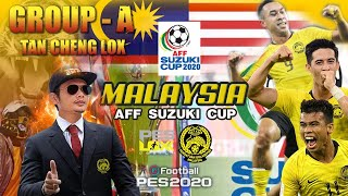 Malaysia group stage AFF SUZUKI CUP - Tan Cheng Lox