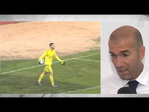 Declas a RMTV de Zidane tras la victoria del Castilla ante el Toledo