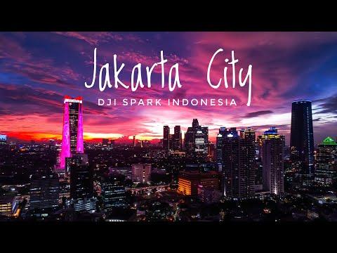 Night Jakarta DJI SPARK INDONESIA