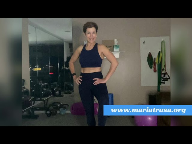 WORKOUT WITH MARÍA Brazos Tonificados.