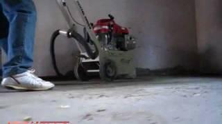 Pulido de pisos de cemento parte 1