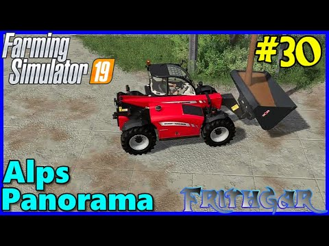 Let's Play FS19, Alps Panorama With Seasons #30: Filling The Bucket!
