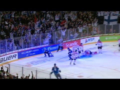 Suomi - Kanada U20 Puolivälierä [6-5] 2.1.2016
