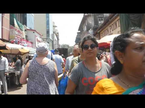 Bombay walking tour Costa Classica March 2017