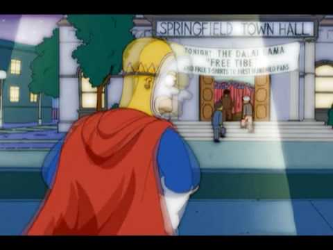 Pie Man - Nickelback - Hero (The Simpsons)