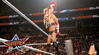 Sasha Banks vs. Charlotte - WWE Women's Title Match: SummerSlam 2016, only on WWE Network