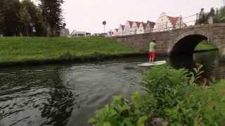 Mein Lieblingsplatz in der Flusslandschaft – Stand-up-Paddeln in Friedrichstadt